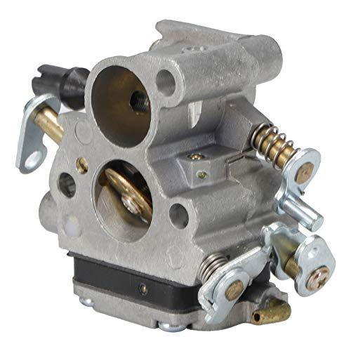 Kit de bombilla de imprimación de filtro de aire de junta de carburador apto para piezas de motosierra Husqvarna 586936202 Kit de ajuste de carburador