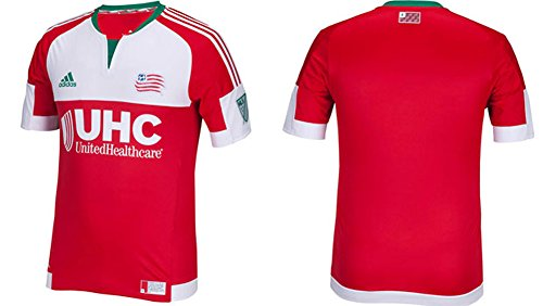 adidas MLS Men's New England Revolution Authentic Jersey