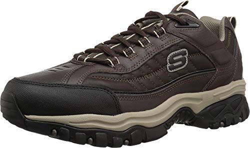 Skechers Men's Energy Downforce Lace-Up Sneaker,Brown Taupe,8 M US