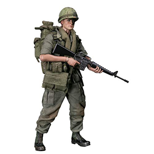 Batop 1/12 Soldat Modell, 15cm US Soldat Actionfigur Modell Spielzeug Figuren Militär Soldat Modell (25th Infantry Division)