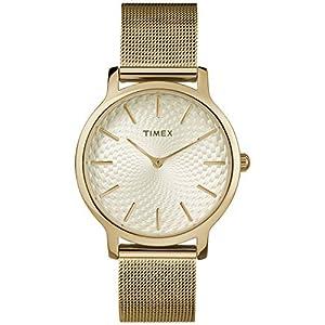 Timex Metropolitan – Reloj de pulsera para mujer (34 mm)
