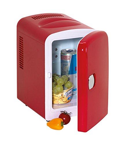 Frigorífico mini rojo con conector de 12V y 240V Hot and Cool