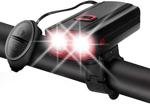 ULTRAFIRE USB Rechargeable Bike Light 5 Light Modes Multifunctional Waterproof Bicycle Headlight product image