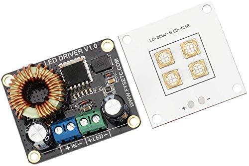 JJDSN Placa de Controlador LED de 30W + Lámpara de Placa de...
