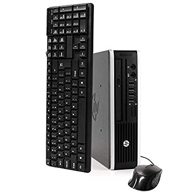 HP Elite 8300 Ultra Small Desktop PC, Intel Quad Core i5 Processor, 16GB RAM, 1TB Solid State Drive, Windows 10 Pro, DVD, Keyboard, Mouse, WiFi (Renewed)