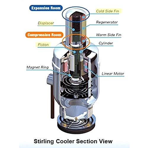 SJ-chiller Chillerr - Enfriador de pistón para Coche, frigorífico ...