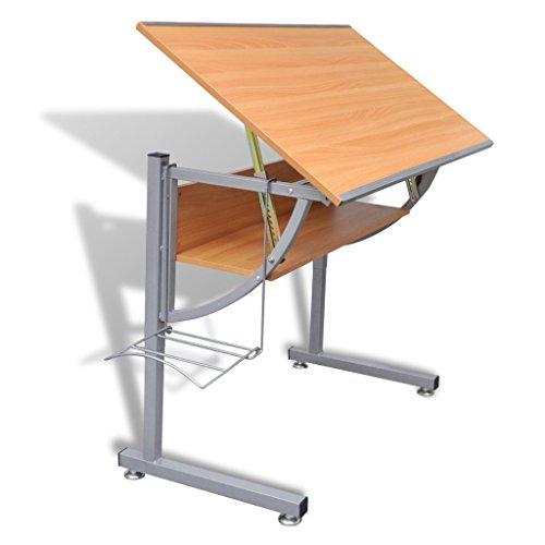 Anself - Mesa multiusos para ordenador dibujo,ajustable en altura e...