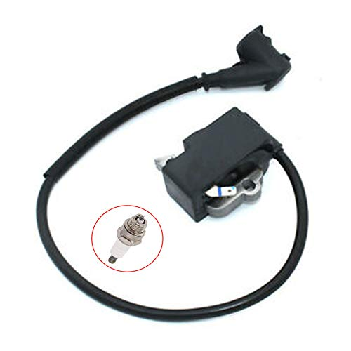 PARTSRUN Ignition Coil Module with Spark Plug Fits Stihl MS441 Magnum MS 441 Chainsaw 1138 400 1300 (Without M-Tronic) ZF157-HHS