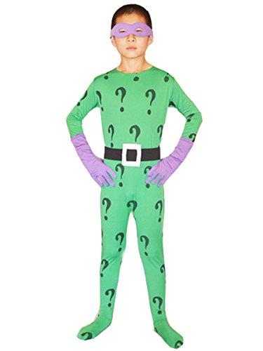 Halloween Kids Riddler Costume
