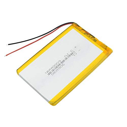 wangxiaoping 906090 Polímero de Iones de Litio 90x60x9mm Baterías Recargables 3.7 V Volt 6000mAh Batería de Repuesto para Tableta Bateria-3,7 V_1 Pieza