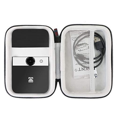 Khanka Hart Tasche Case für Kodak Smile Digital Sofortbildkamera & Fotodrucker Etui Schutzhülle.(Schwarz/Weiss)