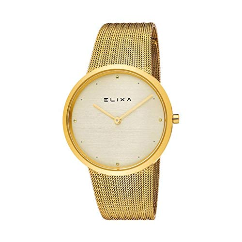 Elixa Reloj Analog-Digital para Womens de Automatic con Correa en Cloth S0318861