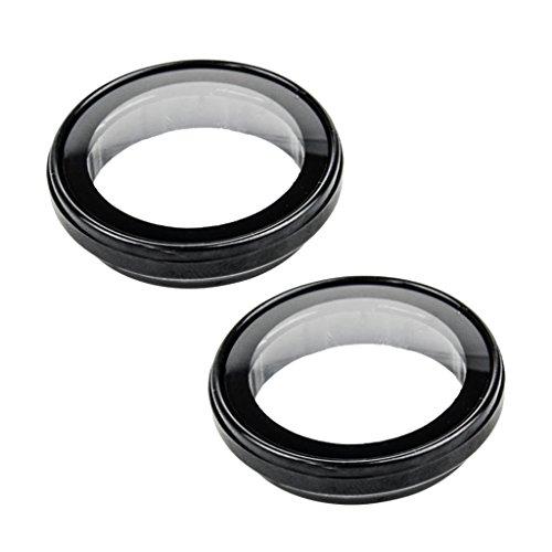 B Blesiya 2X Custodia Protettiva per Coperchio della Custodia Dell'obiettivo della Fotocamera Guad per SJCAM SJ4000 WiFi Sports Camera