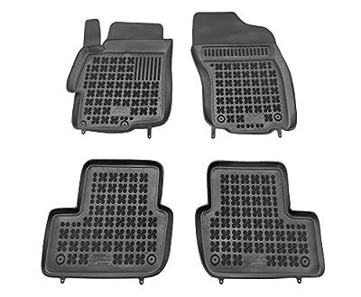 Alfombrillas de Goma Compatible con Mitsubishi Lancer EVO X (2007-2015) + Limpiador de Plasticos (Regalo) | Accesorios Coche Alfombrilla Suelo