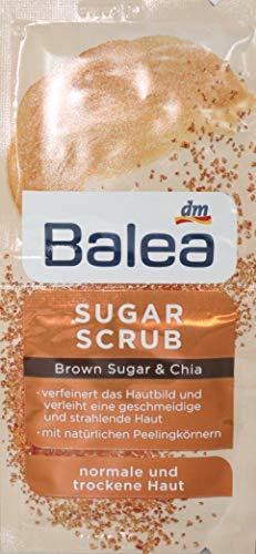 Balea Sugar Scrub Peeling Brown Suger & Chia 10er Packung