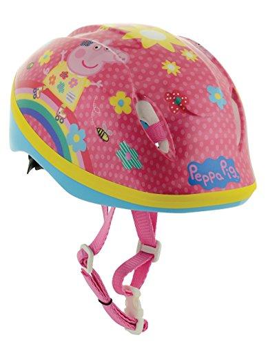 Peppa Pig–Casco para niña, Color Rosa, 48–52cm