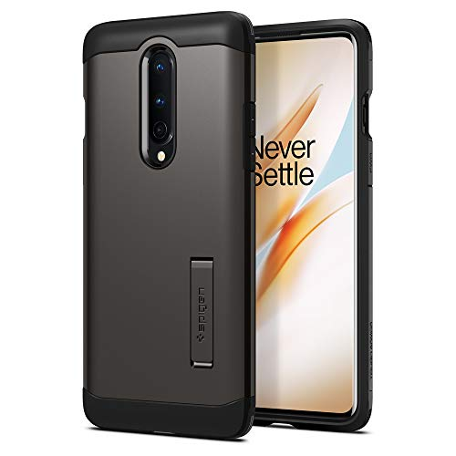 Spigen Tough Armor Designed for OnePlus 8 Case (2020) - Gunmetal