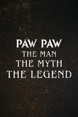Password book Paw Paw The Man the Myth the Legend Family Funny Father Day Premium Meme: Christmas Gifts,2022,Halloween,2021,Thanksgiving,Xmas,Cute password keeper,Login book