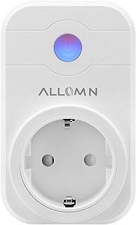 Smart stopcontact, draadloos, werkt met Amazon Alexa (Echo, Echo Dot), stem, afstandsbediening, timer, app-besturing, stop...