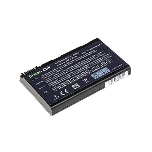 Green Cell Standard Serie BATBL50L6 Akku für Acer Aspire 3100 3650 3690 5100 5101 5102 5103 5110 5200 5610 5630 5650 5680 Laptops (6 Zellen 4400mAh 11.1V Schwarz)