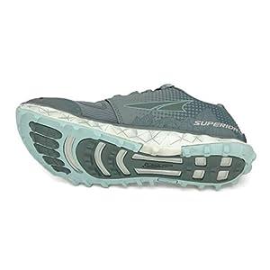 ALTRA Women's AL0A4VR4 Superior 4.5 Trail Running Shoe, Light Blue - 8 M US
