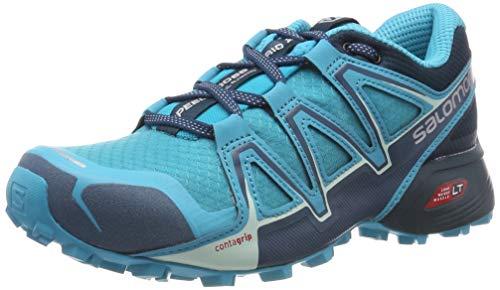Salomon Speedcross Vario 2, Zapatillas de Trail Running para Mujer, Azul (Bluebird/Reflecting Pond/Mallard Blue), 40 EU