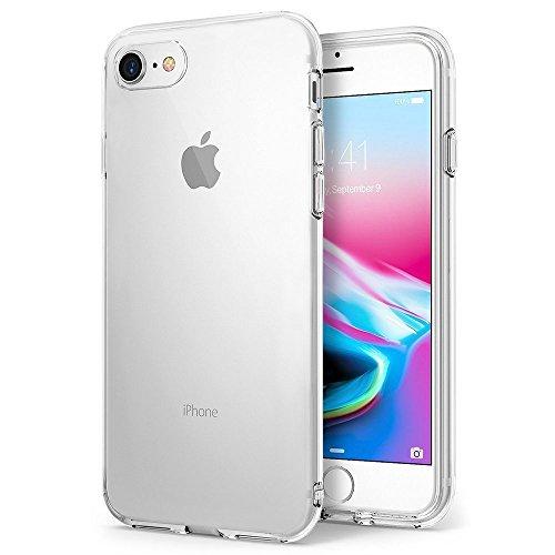 FayTun Hülle für iPhone 8 iPhone 7, Handyhülle für iPhone 7 iPhone 8- Crystal Clear Ultra Dünn Durchsichtige Silikon Schutzhülle TPU Case für iPhone 7/iPhone 8 (4.7 Zoll, Transparent)