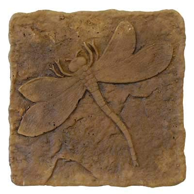 Athens Dragonfly Stepping Stone, Autumn Wheat