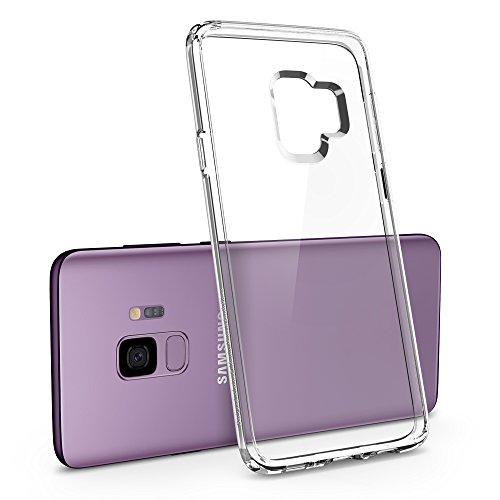 Spigen Funda Ultra Hybrid Compatible con Samsung Galaxy S9 (2018), Protección híbrida de la caída - Transparente