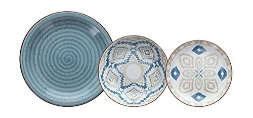 Tognana Casablanca Servizio Piatti, Porcellana