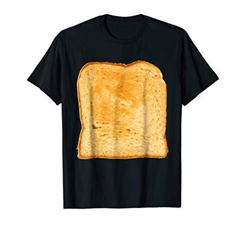 Toast Bread Funny Gluten Free Gag Costume T-shirt