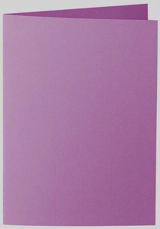 50 Stück    Artoz Serie 1001 Doppelkarten gerippt    Hochdoppelt    DIN A5, 297 x 210mm, hochwertig, holunder B002JJGQH6 | Niedriger Preis