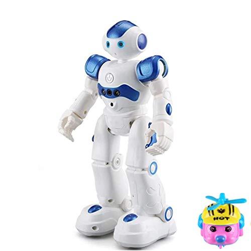 Eariy RC Robot Robot, Control Remoto Robot Smart Robotics Kits Inteligente Caminar Canto Bailar Programable y Control de Gestos Juguete Regalo para Niños Entretenimiento