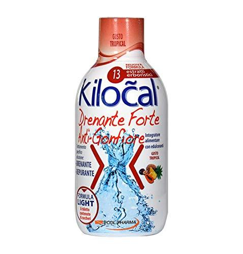 Kilocal Drenante Forte Anti Gonfiore Gusto Tropical 500 ml