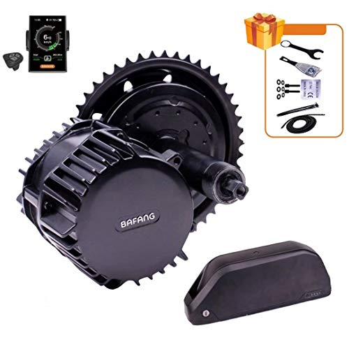 Bafang 1000W BBSHD BBS03 Mid Drive Motor Kit 8fun Electric Bicycle Conversion Kit with Optinal 48v 52v Lithium Battery Central Engine with DPC18 Display DIY Ebike