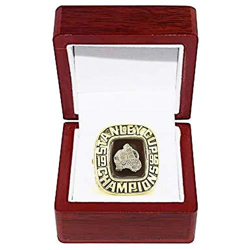 WANZIJING NHL 1996 Chicago Blackhawks Hockey Championship Ring Replica für Fans Herren Geschenkideen anzeigen Aufbewahrungs,with Box
