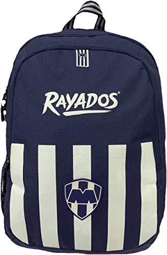 NUEVO Backpack-Mochila Azul Oficial Rayados Monterrey de ELT Sports