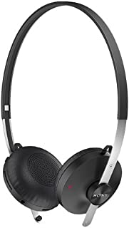 Sony SBH60 Wired or Wireless Stereo Bluetooth Headset For Calls & Music By Rubik - Black