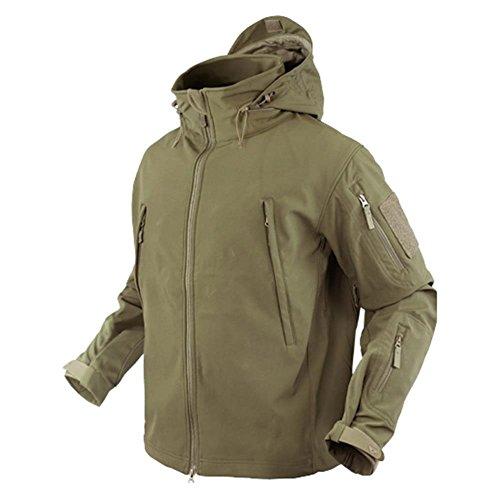 Condor Men's Summit Zero Lightweight Soft Shell Jacket - Tan L