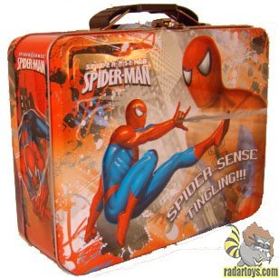 Spider-Man - Tin Lunch Box [Spider Sense]