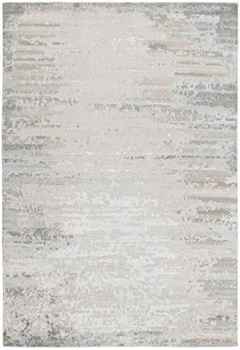 Nain Trading Mila 201x141 Orientteppich Teppich Grau/Beige Handgeknüpft Indien Design Teppich Modern