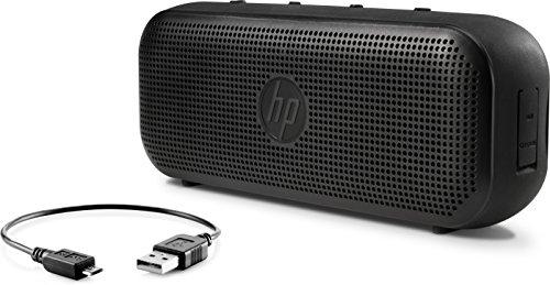 HP 400 (X0N08AA) Bluetooth Lautsprecher (kabellos, bis zu 8h Laufzeit, USB Anschluss) schwarz