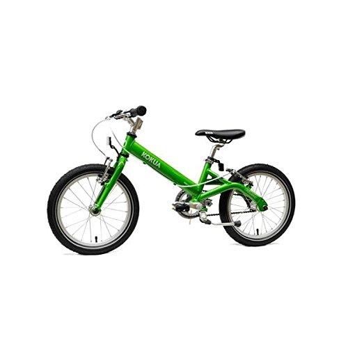 KOKUA BIKE 16 Grün 16Zoll/Big Apple/2xV-Brakes/nur7,5kg