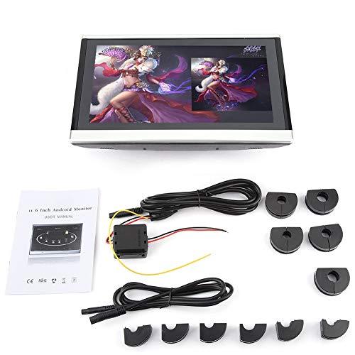 Auto DVD-speler 10,1 inch HD hoofdsteun DVD-speler Portable Digital Pillow Monitor 1366 * 768 * RGB resolutie