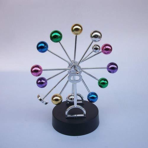 YUQZYT Cobre Estatuasestatua Cerámicarotación Ferris Wheel Home Decoration Crafts