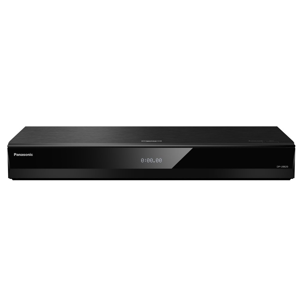 Panasonic DP-UB820EBK Smart 3D 4K UHD Upscaling BLU-Ray / DVD (Multi Region) Reproductor con Audio de Alta Resolución, Ultra HD Premium Certificado: Amazon.es: Electrónica