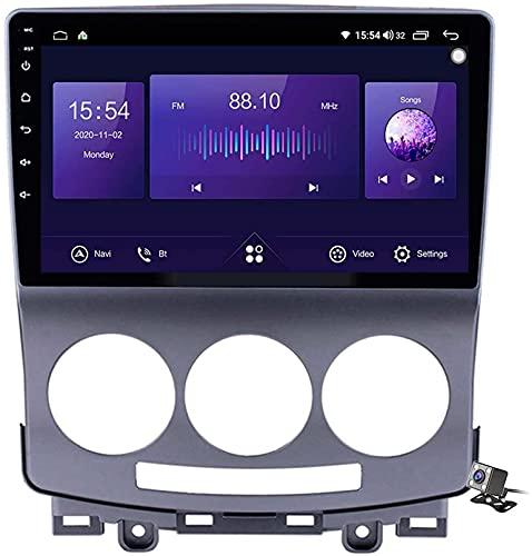 Coche Estéreo Sat Android 10.0 Radio Para Mazda 5 2005-2010, Gps Navigation Unidad De Cabeza De 9 Pulgadas Reproductor Multimedia Mp5 Receptor De Video Con 4g (Size:Cuatro nucleos,Color:WIFI:2GB+32GB)