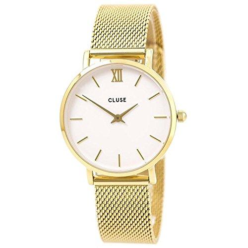 Cluse Damen Armbanduhr Analog Quarz Edelstahl CL30010