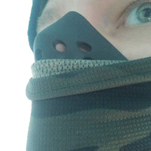 IE-47 サバゲーマスク フェイスガード サバゲー アンダーマスク シリコンマスク (ブラック)