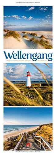 Wellengang - Meeres-Triplets Kalender 2021, Wandkalender im Hochformat (24x66 cm) - Landschaftskalender / Naturkalender